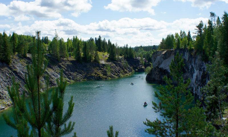 Ruskeala Karelia Russia